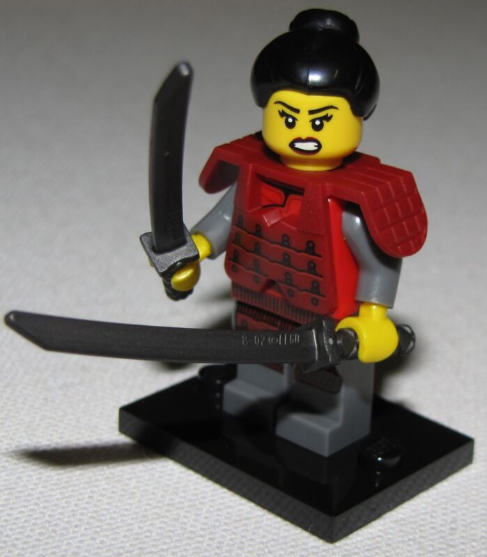 LEGO NEW SERIES 13 71008 MINIFIGURES ALL 16 AVAILABLE YOU PICK YOUR FIGURES  Samurai Girl Warrior