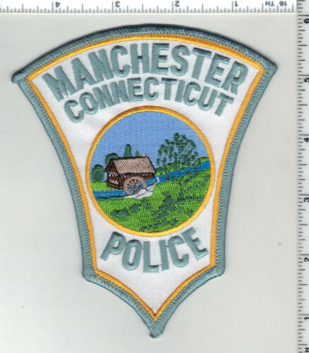 Manchester Police (Connecticut) 3rd Issue Shoulder Patch