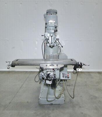 14326 Bridgeport Series I Vertical Knee Mill 9 X 48 Table