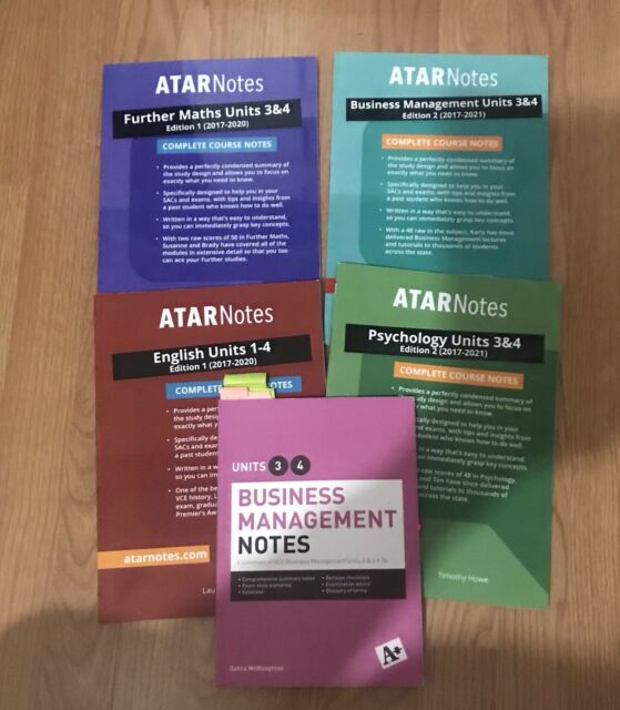 YEAR 12 COURSE NOTES VARIOUS SUBJECTS!!! **ATAR NOTES