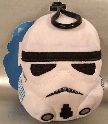 STAR WARS STORM TROOPER Soft Backpack Clip w Zipper Compartment Easter Treat](Star Wars Easter)