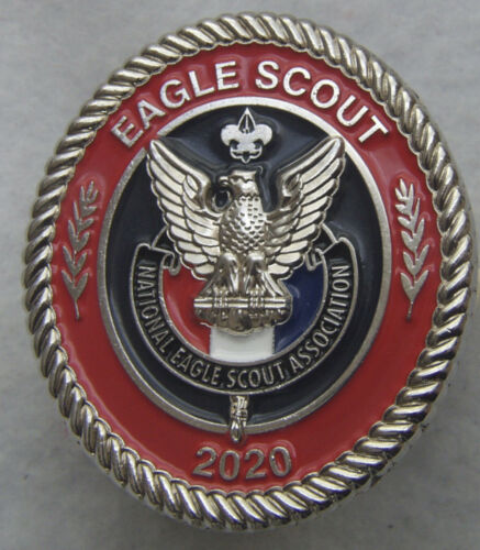 2020 Eagle Scout Neckerchief Slide