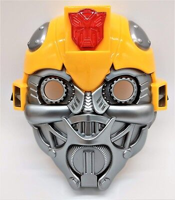 Transformer Bumblebee Voice Talking Mask (batteries included)