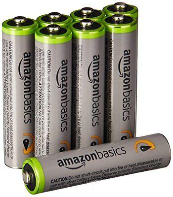 Amazon Basic Hohe Kapazität Wiederaufladbar MAH Hydride Batterie AAA 8pcs