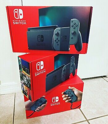 Nintendo Switch 32GB Console with Gray Joy‑Con Newest Model Ships Same Day‼️