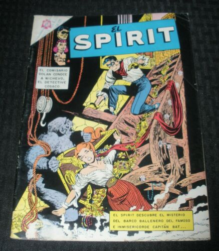 1966 THE EL SPIRIT Novaro Mexican Comic #3 G/VG 3.0 Will Eisner