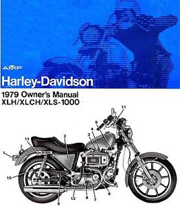 1979 harley davidson sportster xlh xlch xls 1000 owners manual sportster ebay sportster 48 owner's manual sportster 883 owners manual