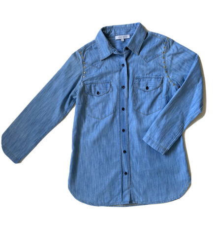 Chemise fluide en jean sandro - taille 1