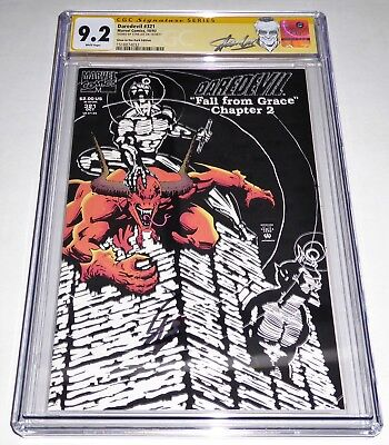 Daredevil #321 CGC SS Signature Autograph STAN LEE Glow in the Dark Edition NUTS