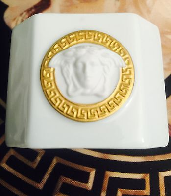 VERSACE MEDUSA GORGONA NAPKIN RING DINNER TABLE DECOR ROSENTHAL NEW SALE