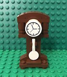 Lego New MOC Grandfather Time Clock / City Antique Home Interior