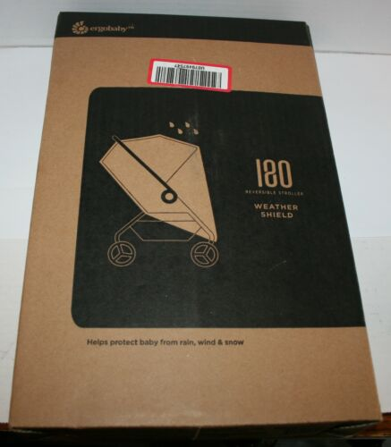 Ergobaby 180 Reversible Stroller Weather Shield Protects from Rain Wind Snow