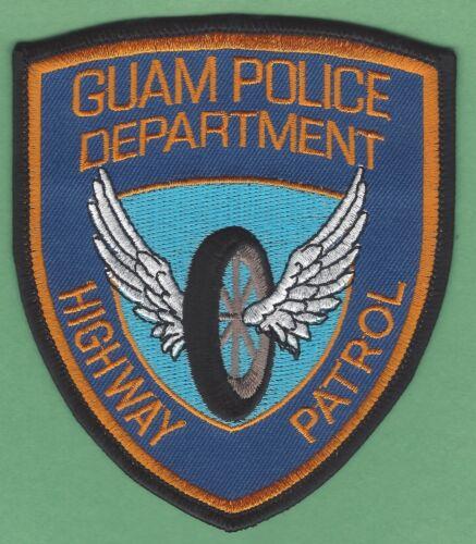 GUAM HIGHWAY PATROL POLICE SHOULDER PATCH