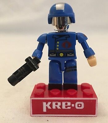 KRE-O G.I. Joe COBRA COMMANDER kreon mini figure kreo