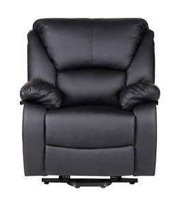 BRAND NEW Electric Lift Recliner Disability Chair BLACK MAVERICK