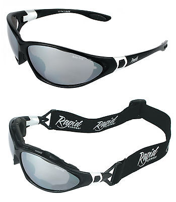 Unisex Rapid Eyewear Moritz Black SUNGLASSES/GOGGLES FOR SKIING and Snowboarding