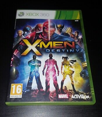 X-Men Destiny Marvel Microsoft Xbox 360 Game, VGC