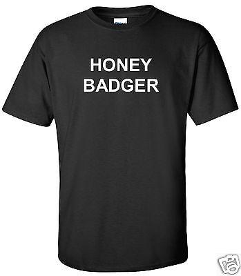 Honey Badger T Shirt Motivational Hard Work Workout Funny Shirt