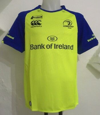 4e07345d651 LEINSTER RUGBY 2016/17 S/S TRAINING JERSEY BY CANTERBURY SIZE ADULT SMALL  NEW