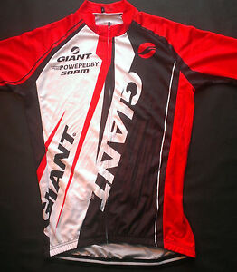 NEW 2017 Giant Pro Race Cycling Jersey with Rear Pockets and Team Iogos