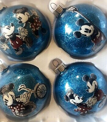 Minnie Mouse And Mickey Mouse Inspired christmas ornaments ()
