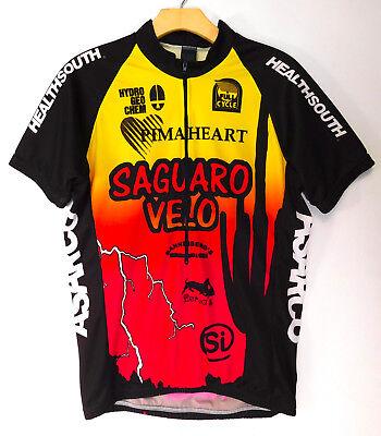 PYRO Saguaro Velo TUCSON Cycling Jersey Bicycle 1 2 Zip Bike SHIRT Men s  Medium 20db473cf