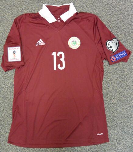 KASPARS GORKSS national football team LATVIA  jersey  (WORLD CUP 2018model)