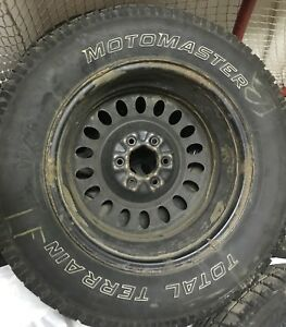 245/65/R17. Set of 4 Winter Tires on Rims