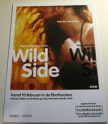 Advertising Film Wild Side Netherlands - unposted