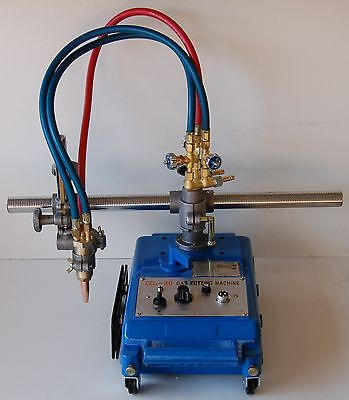 Torch Track Burner Cutter By Bluerock Tools Cg-30 Gas Cutting Machine