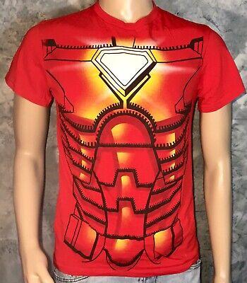 Official IRON MAN Marvel Comics AVENGERS MARK IV Tony Stark Costume S T-Shirt