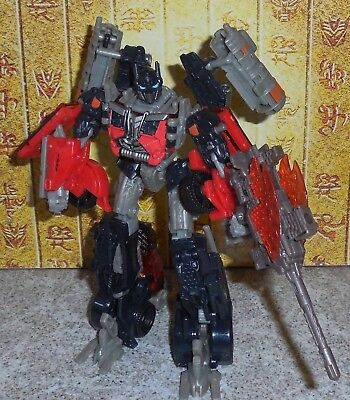 Transformers Dark of the Moon FIREBURST OPTIMUS PRIME Complete Dotm Voyager (Optimus Prime Dark Of The Moon Toy)