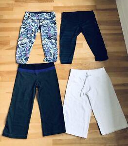 Lululemon bottoms pants shorts crops leggings pantalons