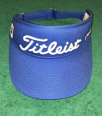 Titleist High Crown Visor +++ Brand New +++ Sky Blue +++ Awesome ++++ Tour  Issue a9738bed8cd3