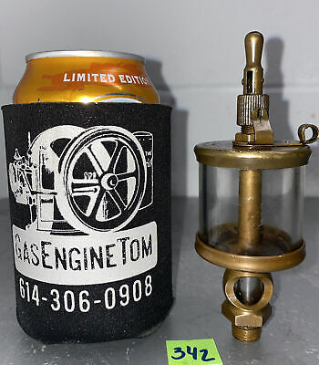 Lunkenheimer No. 1 12 Fig 1300 Sentinel Brass Oiler Hit Miss Gas Engine Antique