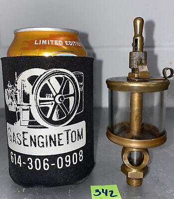 Lunkenheimer No. 1 12 Fig 1300 Sentinel Brass Oiler Hit Miss Gas Engine Antique