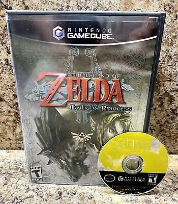 Zelda Twilight Princess (GameCube)Tested And Works Great😍🤩Ships⚡️Fast!