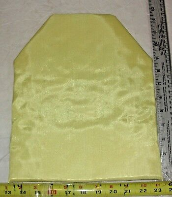 10x12 Shooter Cut Level IIIA Stand Alone Body Armor Plate Bullet Proof Insert