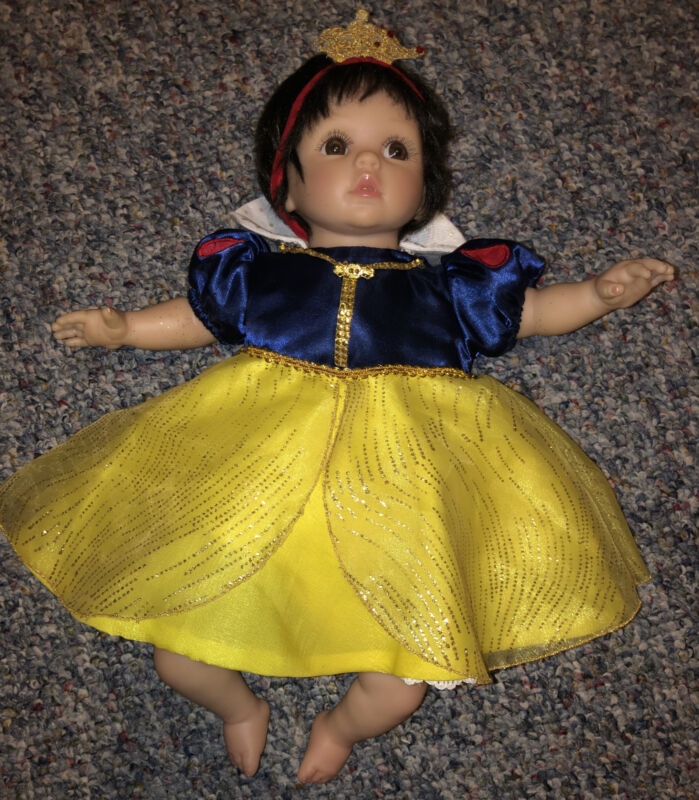 Cheryl Hill Snow White Outfit Disney Doll Music Motion Silicone Life Like