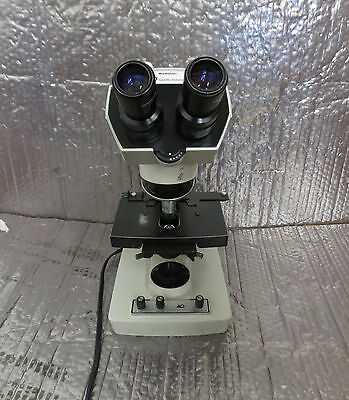 Ao American Optical 1130a One- Hundred Microstar Microscope With 1 Objective