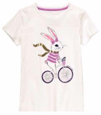 NWT Gymboree Girls Bright Ideas Bunny Bike Top Size 4 5 6 & 7 (Girl Ideas)