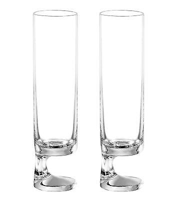 Smoke Joe Colombo Bicchiere Champagne Flute (Twin Pack) 13cl