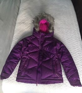 Girls Columbia Coat (size small fits size 8)