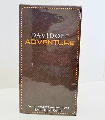 ADVENTURE By DAVIDOFF 3.4 3.3 oz 100 ml Men Cologne EDT Spray NEW IN BOX