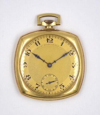 ANTIQUE PATEK PHILIPPE 18J POCKET WATCH 18K GOLD BAILEY BANKS & BIDDLE c1927