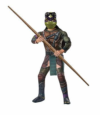 TMNT Teenage Mutant Ninja Turtles Donatello Halloween Costume Small 4-6