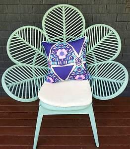 Flower chair rattan Yarrawarrah Sutherland Area Preview