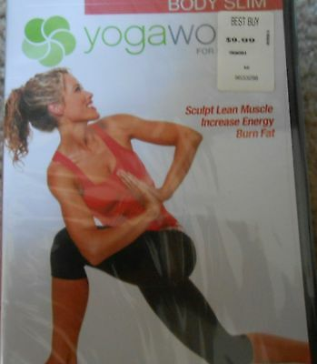 Yogaworks For Everybody Body Slim Workout Fitness Exercise Dvd Flexibility New