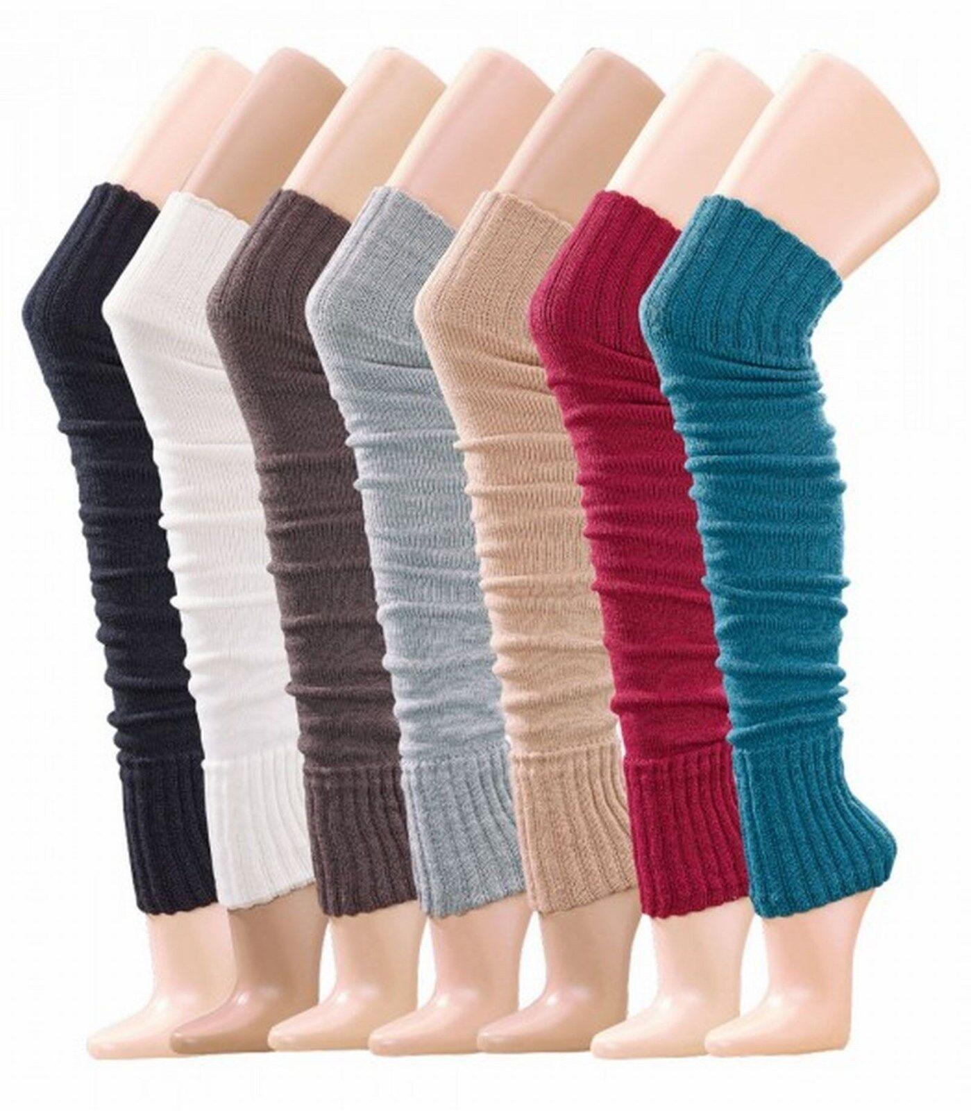 modische warme♦♦OVERKNEES♦♦halterlose Strick Stulpen♦Strümpfe Socken♦Overknee♦
