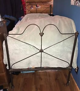 Antique single bed frame